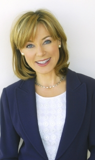 Official Sian Williams Blue Jacket © Jeff Overs