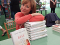 My pile of books in the signing tent