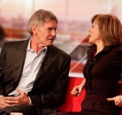 Sian Williams and Harrison Ford BBC Breakfast paper review ©BBC