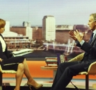 Sian Williams/Tony Blair The Andrew Marr Show ©BBC