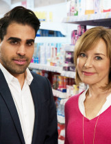 Sian Williams and Dr Ranj Singh © Twofour